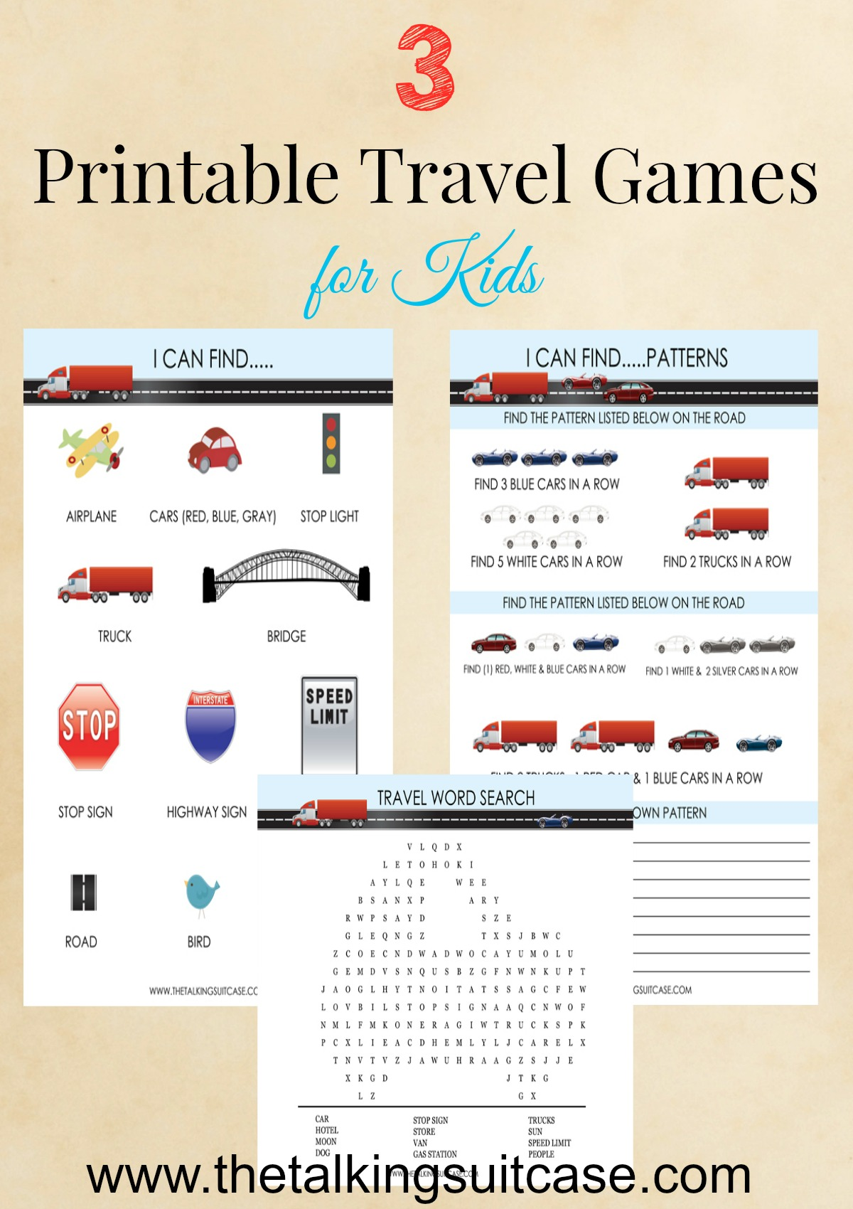 It is a picture of Old Fashioned Travel Games Printables