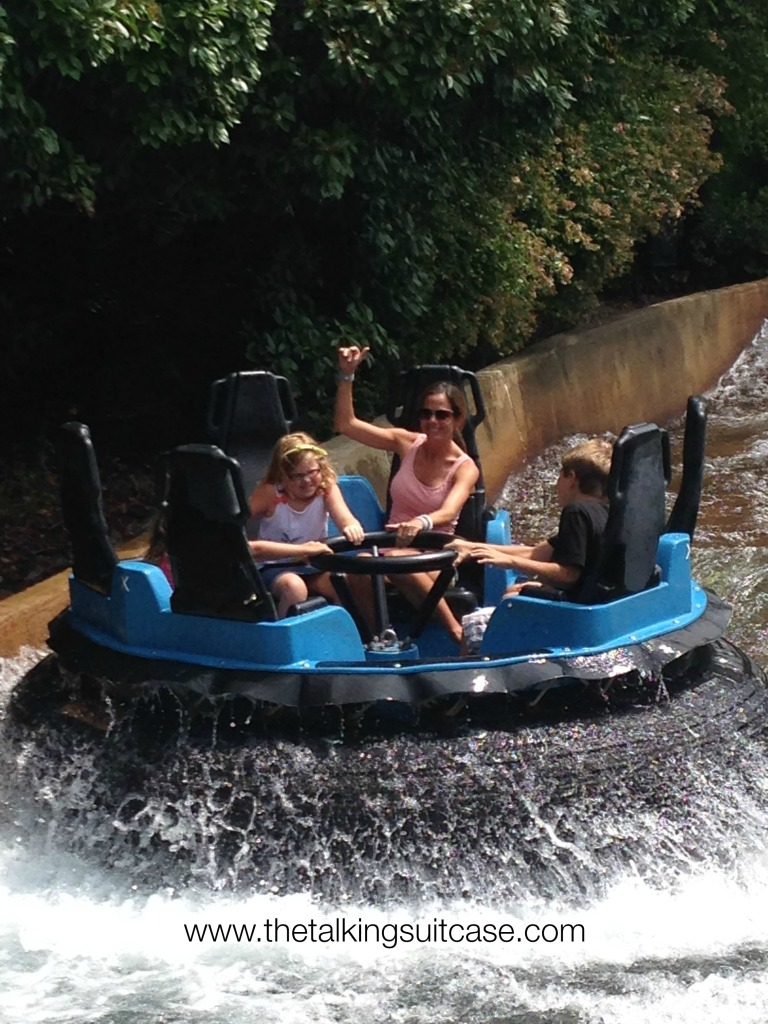 Roman Rapids Busch Gardens