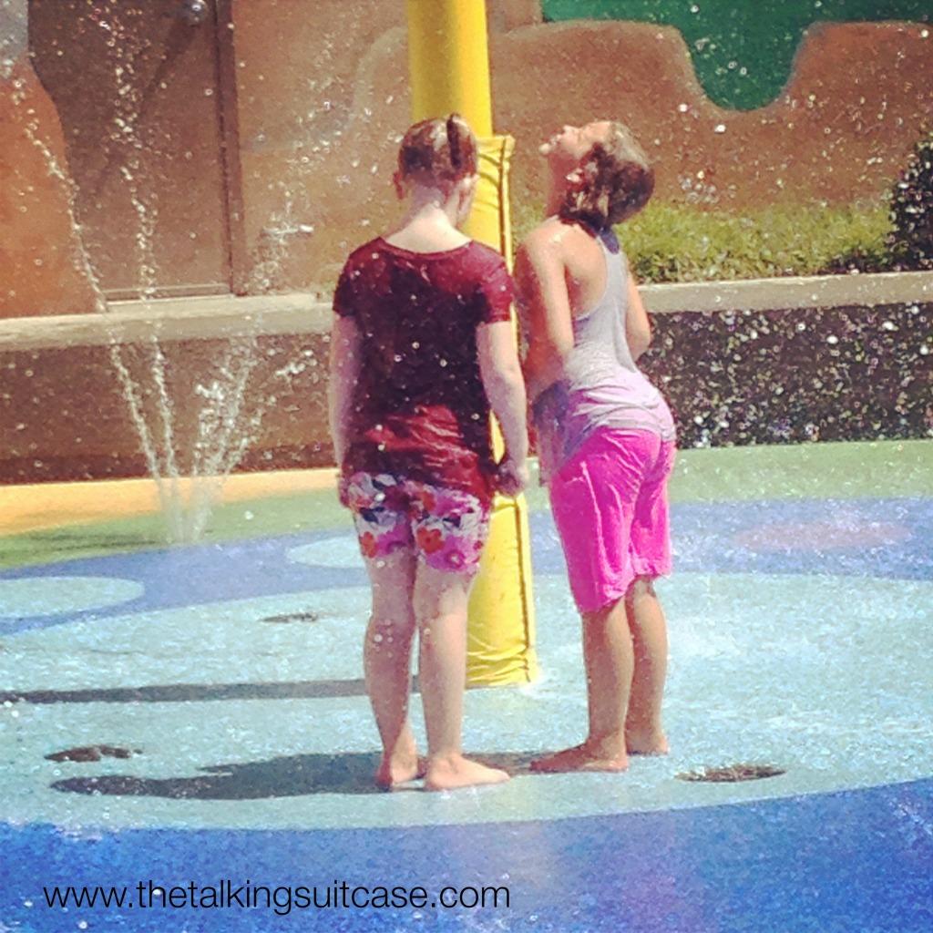 Sesame Street Water Fun Busch Gardens