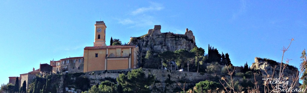 View of Eze Village from street level
