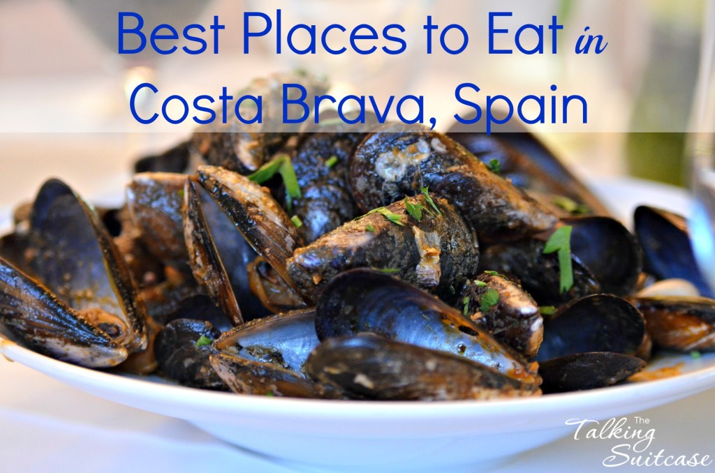 Best places to Eat in Costa, Brava Spain (mussels image)