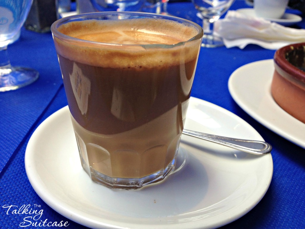 Cafe pick me up at Can Segura Hotel Restaurant