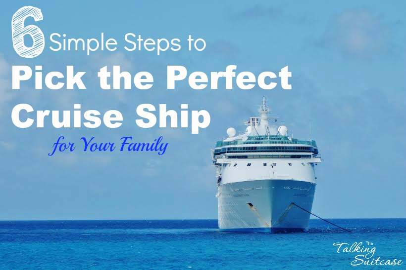 How to pick the perfect cruise ship
