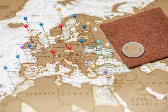Ultimate Gift Guide for Travelers The Talking Suitcase – Travelers World Map