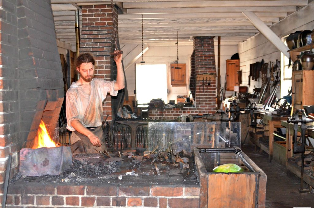 Colonial Williamsburg Blacksmith