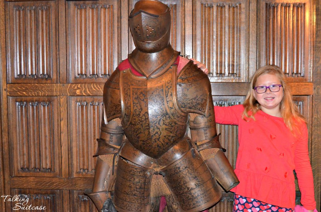 lucy-with-sir-george-at-thornbury-castle