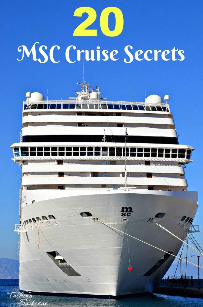 MSC Cruise Travel Secrets: 20 Tips & Tricks for Sailing with MSC