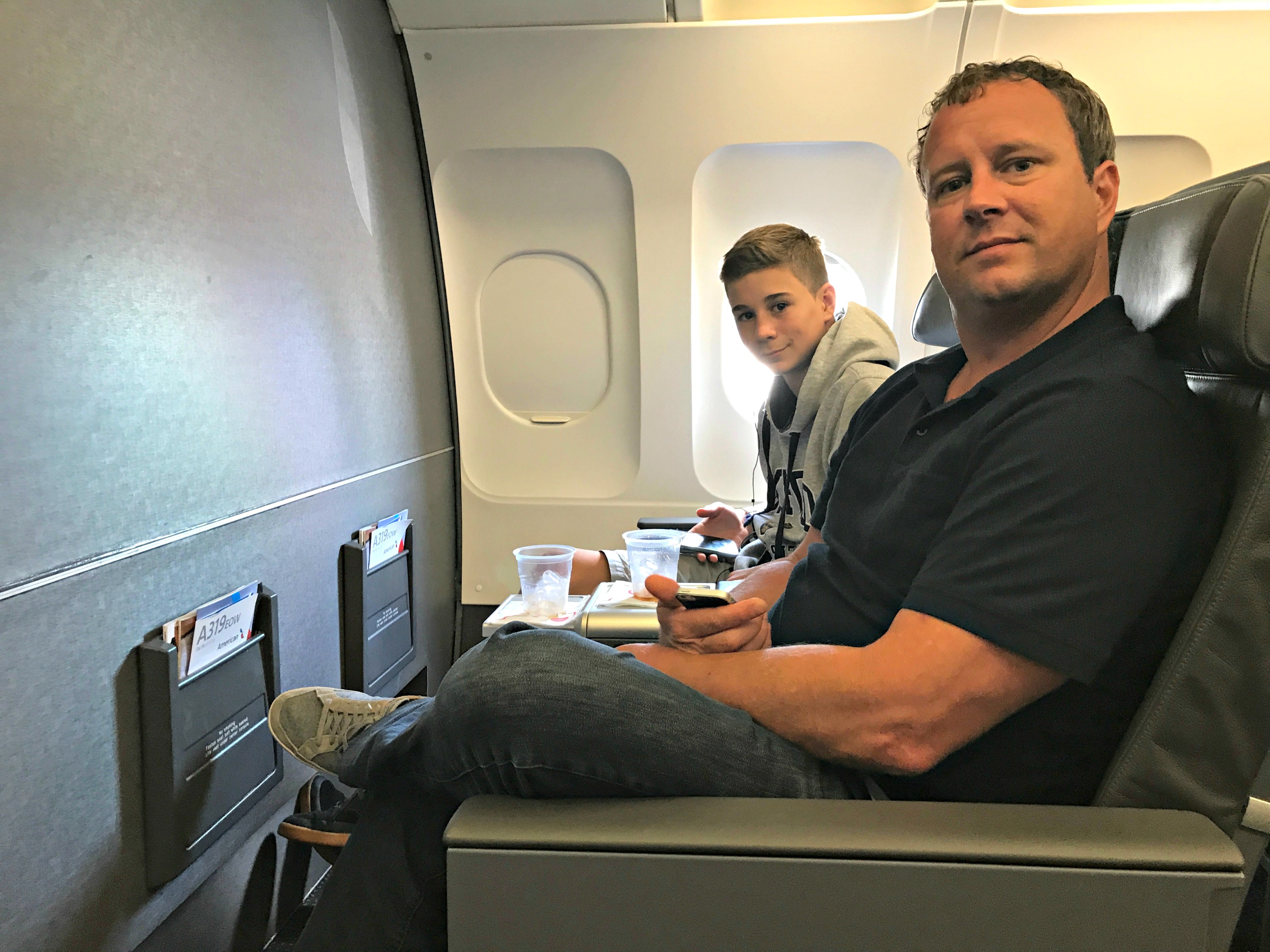 First Class Domestic Travel