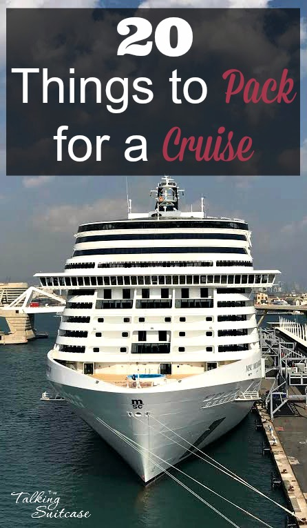20 Things To Pack For A Cruise: Plus Printable Packing